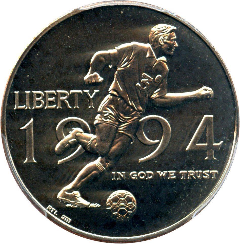 1994 D 50C World Cup Commemorative PCGS MS69