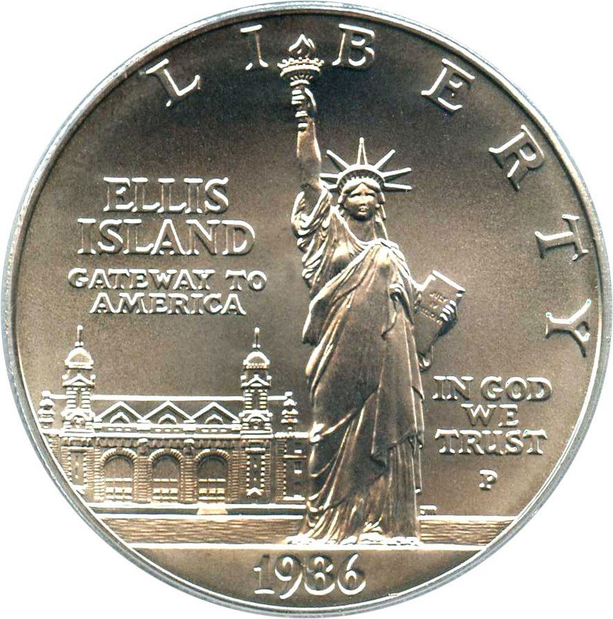 1986-S Statue OF Liberty Commemorative Dollar $1 PCGS PROOF 70 DEEP CAMEO